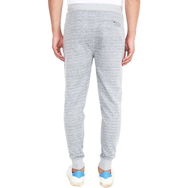 H&M Slim Fit Cotton Trackpant For Men_H&MG - Grey