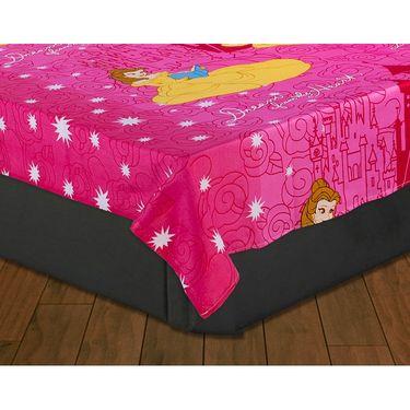 Beautiful Princess Kids Single Bedsheet with 1 Pillow Cover-HFSBD101
