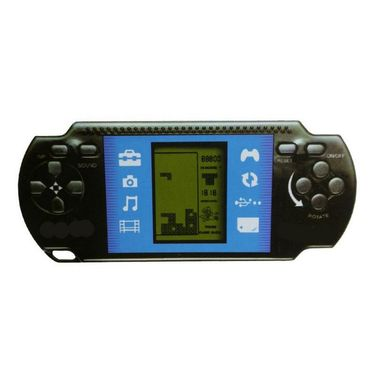 Handheld Gaming Station With Brick Game For Kids