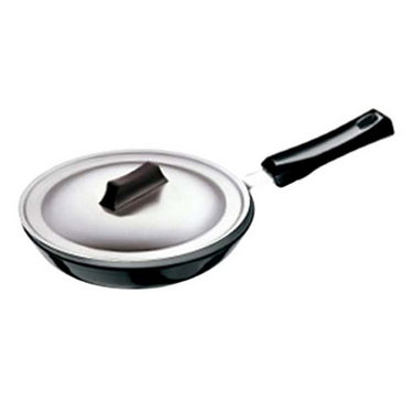 Hawkins Futura Frying Pan with Stainless Steel Lid 25 cm