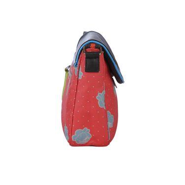 Be For Bag Canvas Cycling Clutch Orange -Hazel