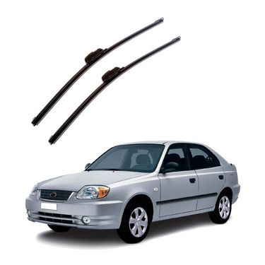 Autofurnish Frameless Wiper Blades for Hyundai Accent (D)20