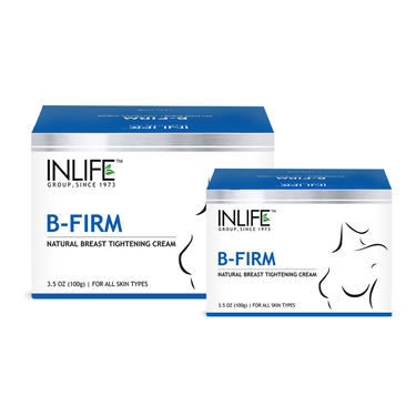 INLIFE Natural Breast Firming Massage Cream, 2 Pack 100g For Breast Shaping