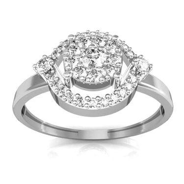Avsar Real Gold & Swarovski Stone Pallavi Ring_I050wb