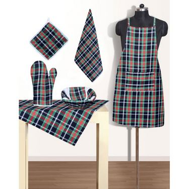 RNG Set of 6 Kitchen Linen Set IWS-APRS-09