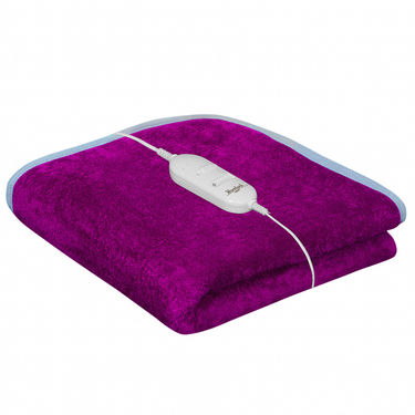 Set of 2 Warmland Electric Single Bed Blanket-Pink & Green-IWS-EB-03_04