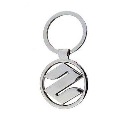 AutoSun Keychain For Suzuki Logo Heavy Metal Ring