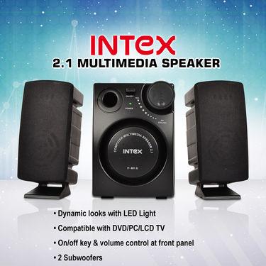 Intex 2.1 Multimedia Speakers