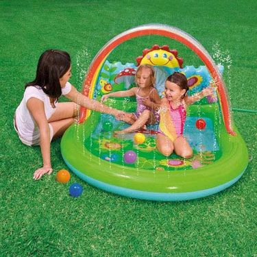 Inflatable 5 ft Country Side Water Play Center