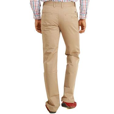 Cotton Regular Fit Chinos_J103 - Cream