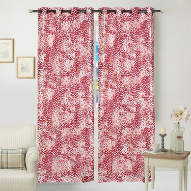 JBG Home Store Set of 2 Beautiful Design Door Curtains-JBG911_1MCD
