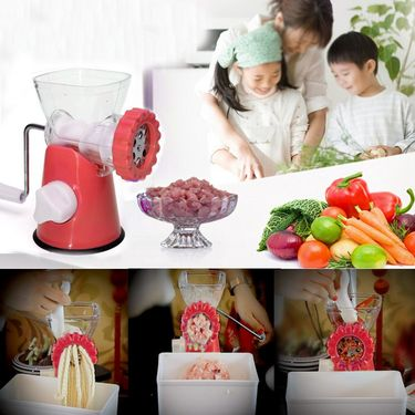 Kawachi Home Make Mincer-K174-Red