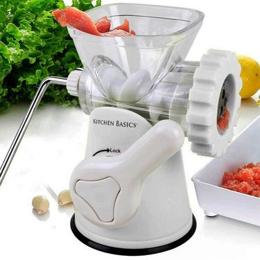 Kawachi Home Make Mincer-K174-White