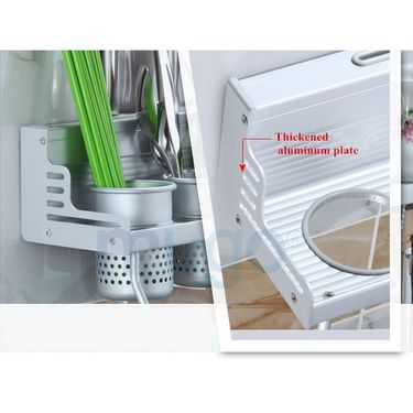Kawachi Space Aluminum Kitchen Rack 40cm k-217