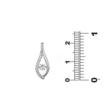 Kiara Swarovski Signity Sterling Silver Swara Pendant_Kip0474
