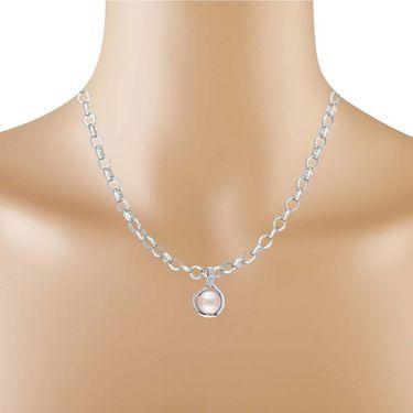 Kiara Swarovski Signity Sterling Silver Janavi Pendant_Kip0488