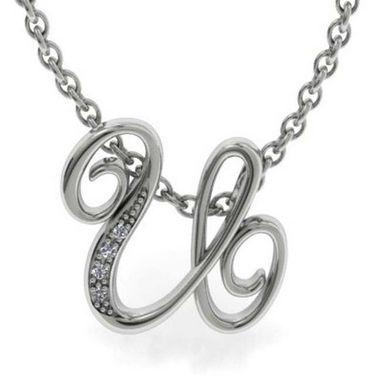 Kiara Swarovski Signity Sterling Silver Swapna Pendant_Kip0528