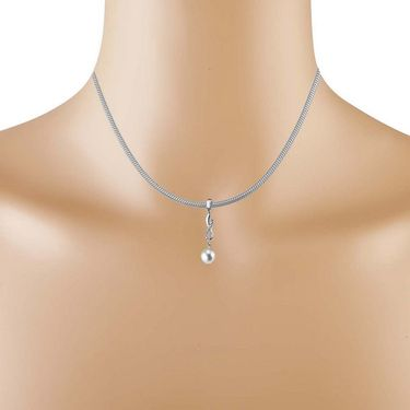 Kiara Swarovski Signity Sterling Silver Supriya Pendant_Kip0569