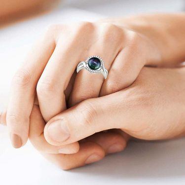Kiara Swarovski Signity Sterling Silver Priyanka Ring_Kir0680 - Silver