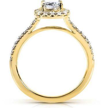 Kiara Swarovski Signity Sterling Silver Sanika Ring_Kir0700 - Golden