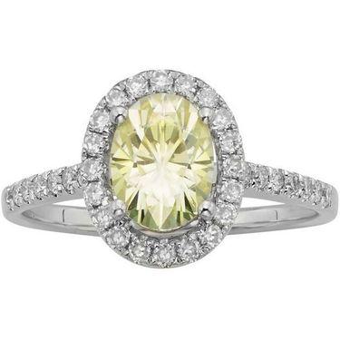 Kiara Swarovski Signity Sterling Silver Chitra Ring_Kir0710 - Silver