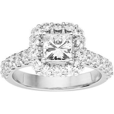 Kiara Swarovski Signity Sterling Silver Tejshree Ring_Kir0719 - Silver