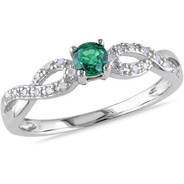 Kiara Swarovski Signity Sterling Silver Samiksha Ring_Kir0727 - Silver