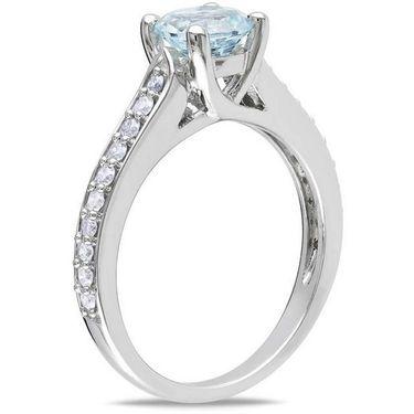 Kiara Swarovski Signity Sterling Silver Kajol Ring_Kir0738 - Silver