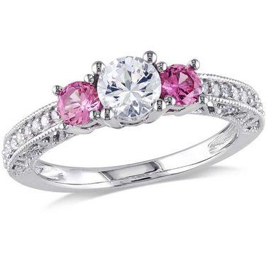 Kiara Swarovski Signity Sterling Silver Divya Ring_Kir0748 - Silver