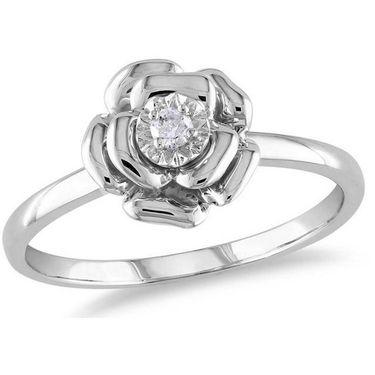 Kiara Swarovski Signity Sterling Silver Tejal Ring_Kir0751 - Silver