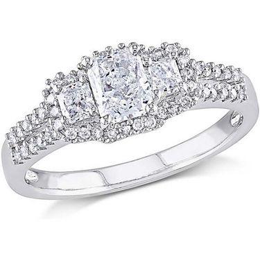 Kiara Swarovski Signity Sterling Silver Sonal Ring_Kir0777 - Silver