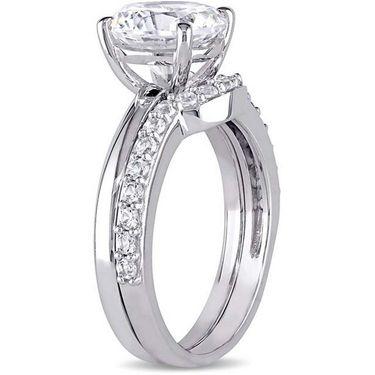 Kiara Swarovski Signity Sterling Silver Kavya Ring_Kir0810 - Silver