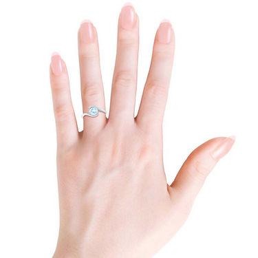 Kiara Swarovski Signity Sterling Silver Poonam Ring_kir1257 - Silver