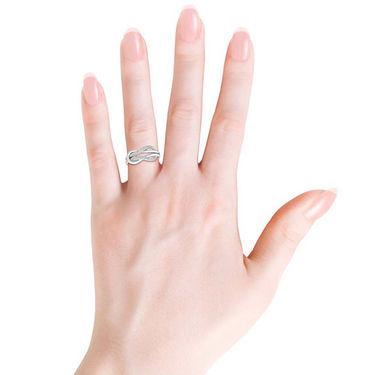 Kiara Swarovski Signity Sterling Silver Kanika Ring_kir1288 - Silver