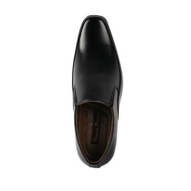 Bacca bucci Faux Leather  Formal Shoes KP-27 - Black