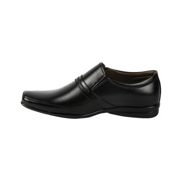 Bacca bucci Faux Leather  Formal Shoes KP-28 - Black
