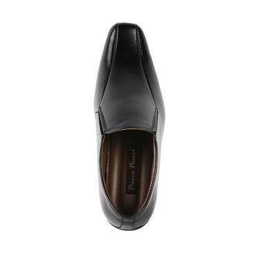 Bacca bucci Faux Leather  Formal Shoes KP-29 - Black
