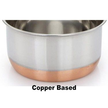 KLASSIC VIMAL COPPER BOTTOM SAUCE PAN KV046