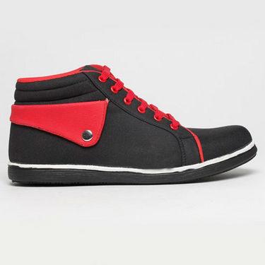 Kohinoor Sneakers for Men - Black & Red