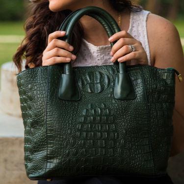 Arisha Green Handbag -LB 360