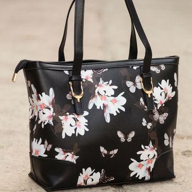 Arisha Black Handbag -LB 396