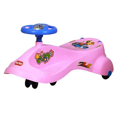 Kids Best Swing Car Pink