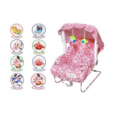 Playtool Multi Bouncer and Booster Seat - Pink