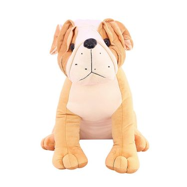 Cute Pug 50 Cms Stuff Toy - Brown