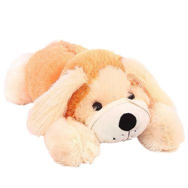 Lying Dog 70 cm Stuff Toy - Brown