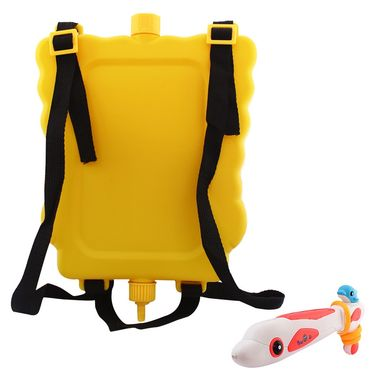 Holi Water Pichkari Back Pack Tank Squirter 2015bb - Yellow