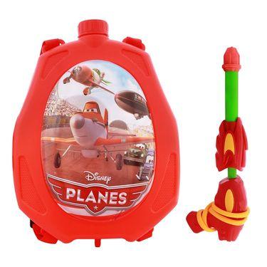 Holi Water Pichkari Back Pack Cartoon Tank Squirter F14 - Red