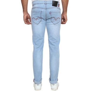 Levis Plain Slim Fit Stretchable Jeans For Men_Lrdlb - Light Blue