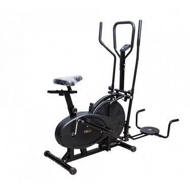 Lifeline 4 in 1 Orbitrac-Twister + Exerciser + Push Ups Bar + Heavy Duty Bike