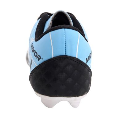 Mayor Black - Sky Blue Fiero Football Studs - 5